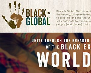 Black is Global Web Design