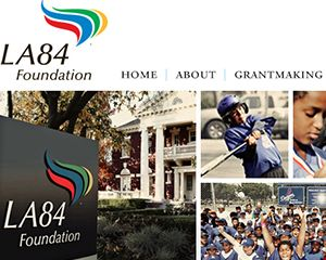 The LA84 Foundation Website