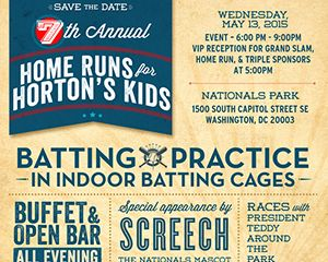 Home Runs for Horton's Kids