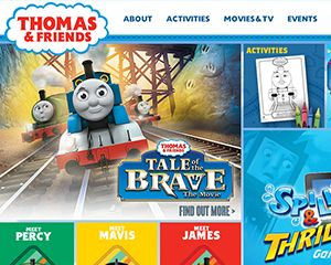 Thomas and Friends Website