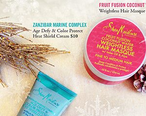 SheaMoisture Holiday Catalog