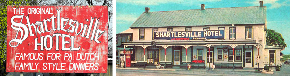 Shartlesville Hotel, a family tradition